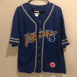 Disney tigger baseball jersey blue cotton